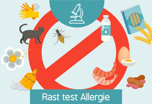analisi rast test allergie